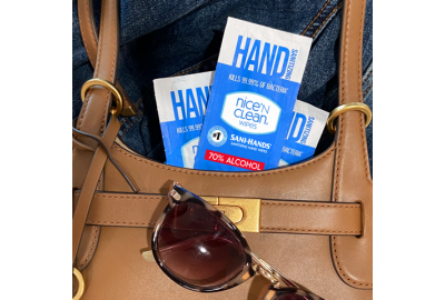 Nice 'N CLEAN® Delivers Sustainability and Wellness for Back-to-School With Launch of Sani-Hands® High-Alcohol Sanitizing Hand Wipes