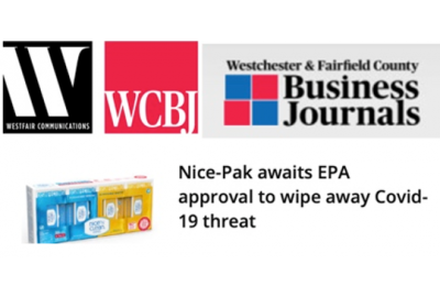 Nice-Pak awaits EPA approval to wipe away COVID-19 threat
