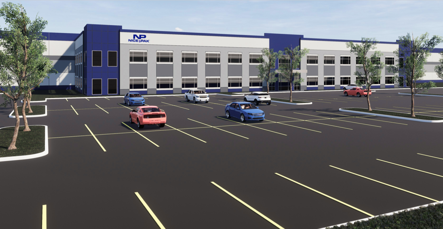 Nice-Pak Announces Plans to Construct New Facility in Mooresville