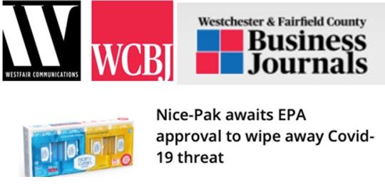Nice-Pak awaits EPA approval to wipe away COVID-19 threat