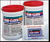 1988 Sani-Cloth surface disinfectant