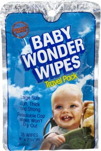 Baby Wonder Wipes 15ct Trvl Pk r2