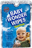 First resealable baby wipes