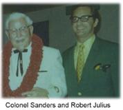 Colonel Sanders and Robert Julius